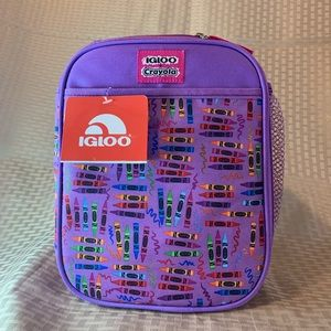 Igloo + Crayola Kids Lunch Box